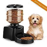 amzdeal Futterautomat Katze, Automatischer Futterspender für Katze und Hunde, Futterautomat Programmierbar mit Timer/LCD Bildschirm/Ton-Aufnahmefunktion, 5.5 L (1)