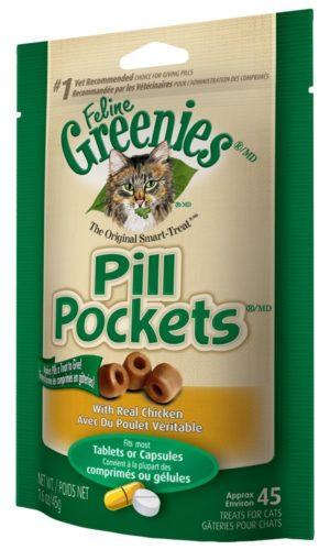 Pill Pockets für Katzen - Medizin in Leckerlis verstecken