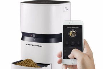 Automatischer Futterautomat von HoneyGuaridan S25 Smart mit App Control