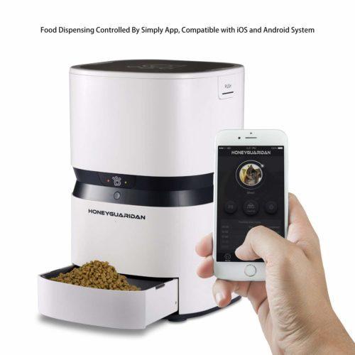 HoneyGuaridan S25 Smart automatischer Futterautomat,